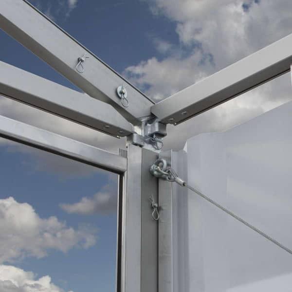 Construcción resistente de aluminio